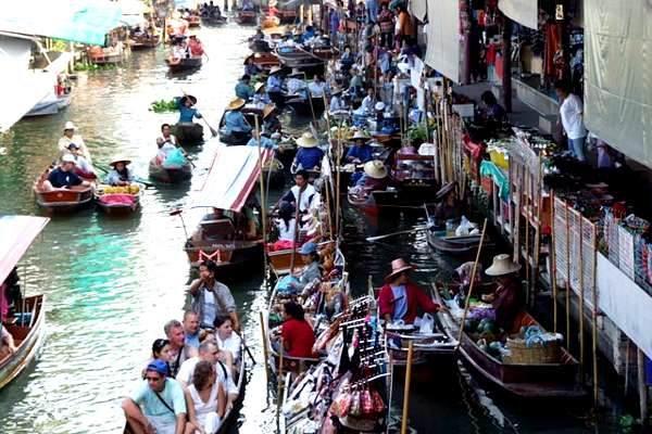Mercados que ver en Bangkok