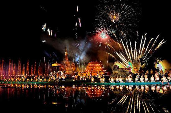 fiestas en tailandia