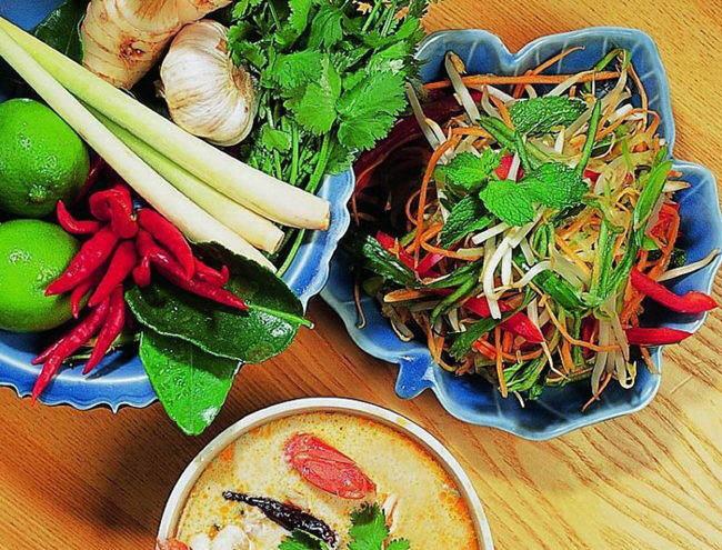 Comida tailandesa en localidades infograf a siamtrails for Ingredientes para comida