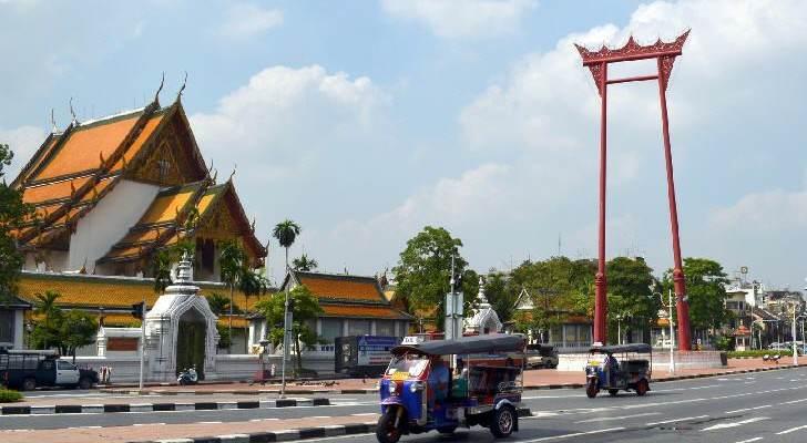 Templos Bangkok Wat Suthat