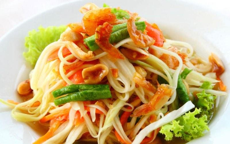 almuerzo tailandés grasa en Baracaldo