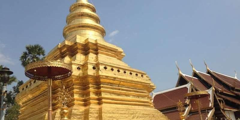 Pagoda Templo Tailandia