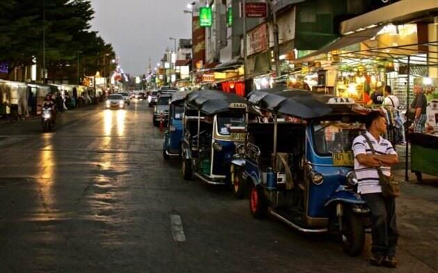 Chiang Mai BazarNocturno