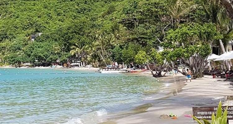 Playa de Ao Phrao en Koh Samed