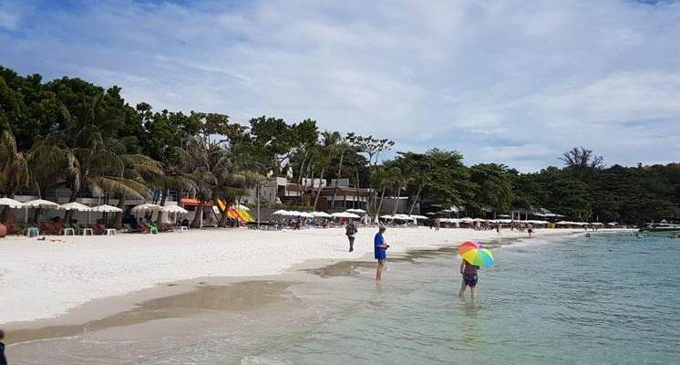 Playa de Sai Kaew en Koh Samed