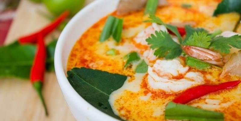 Sopa Tailandesa sin gluten