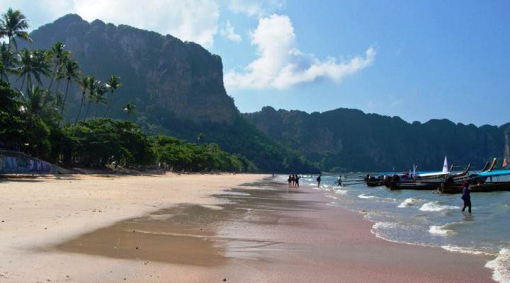 Alojarse en Krabi Aonang