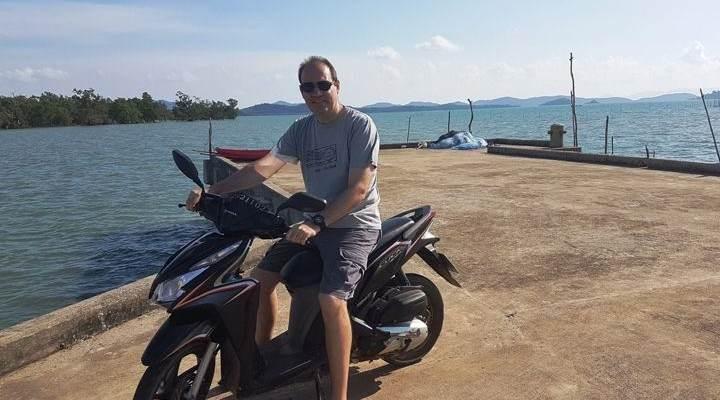 Koh Yao Noi en moto