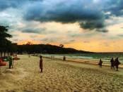 Epoca del monzon en Tailandia