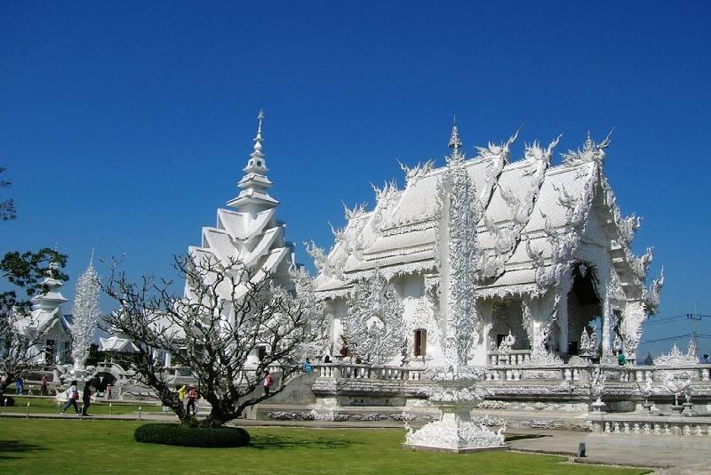 Tailandia en 10 días Templo Blanco