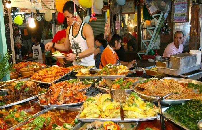 Precios en los mercadillos de Tailandia