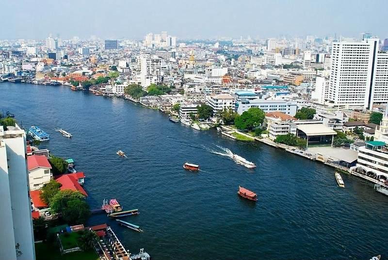 El Rio Chao Phraya en Bangkok