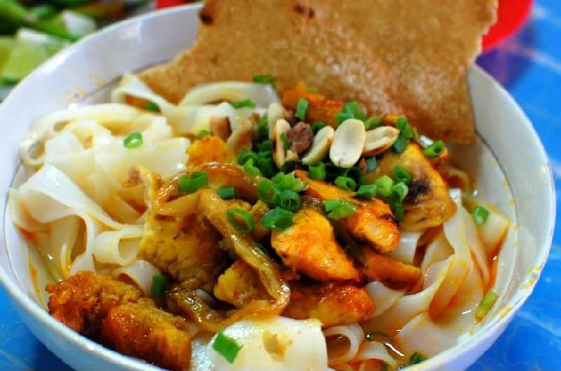 Mi Quang, tallarines de arroz del centro de vietnam
