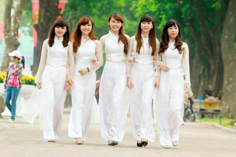 Vestido tradicional vietnamita