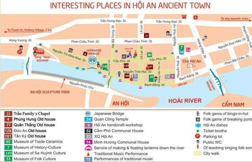 Mapa de Hoi An