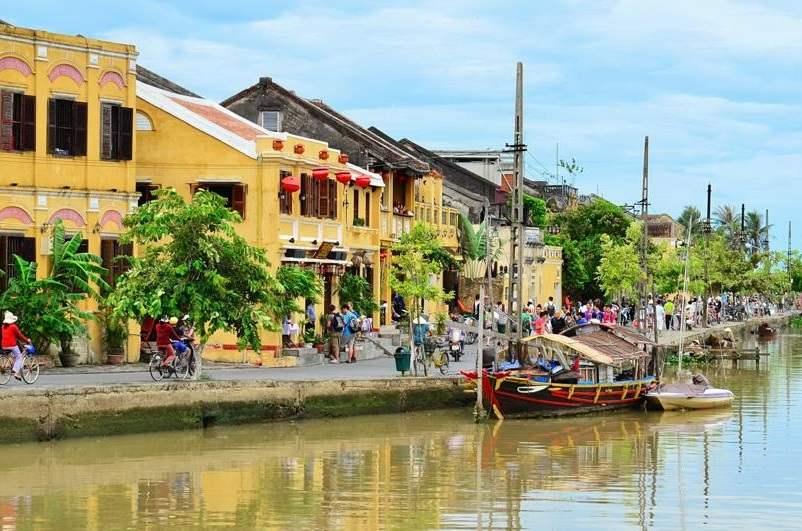 Localidad de Hoi An en Vietnam
