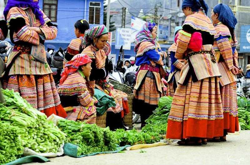 Los mercados étnicos de Mai Chau
