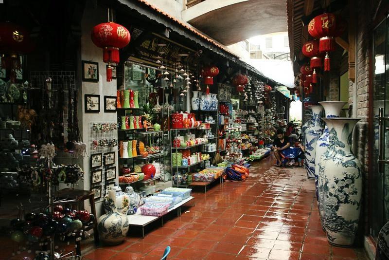 Comprar cerámica en Hanoi