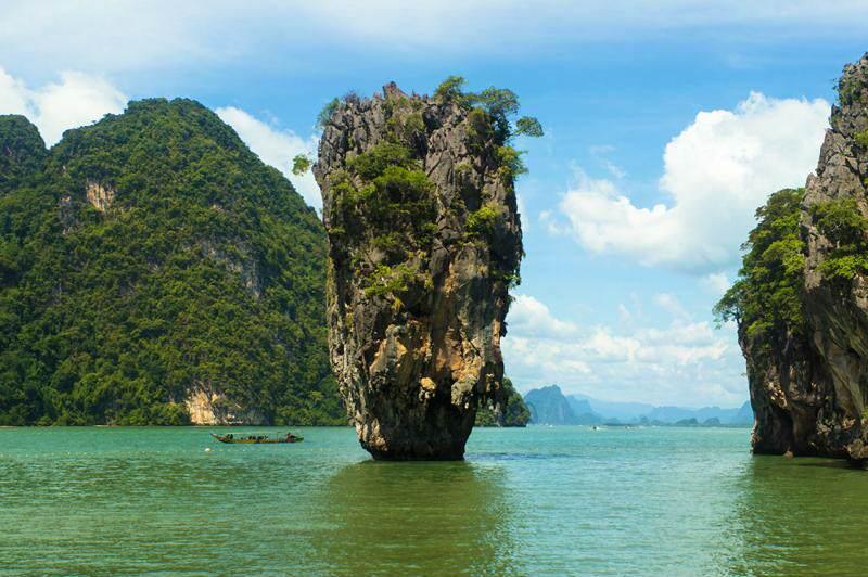 Excursion Bahía de Phang Na e Isla de James Bond