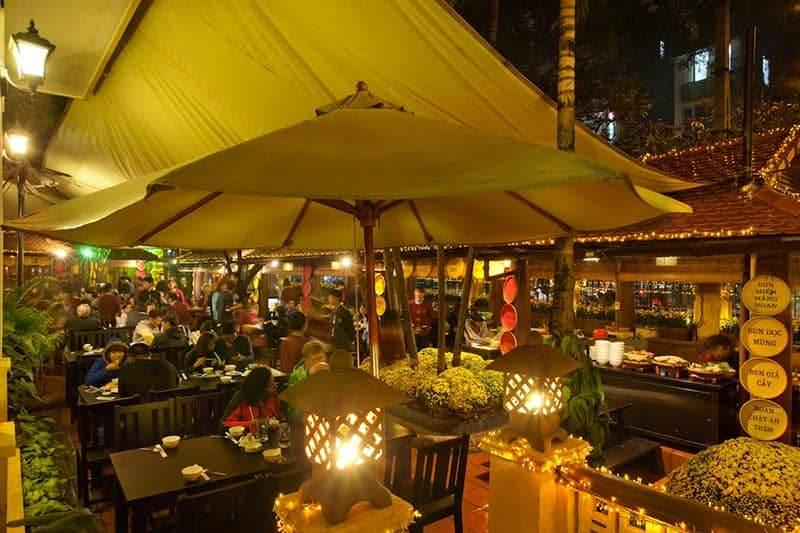 Restaurante Quan An Ngon en hanoi