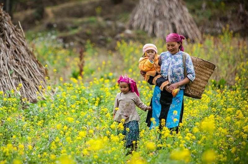 Tribus en el Valle de Mai Chau