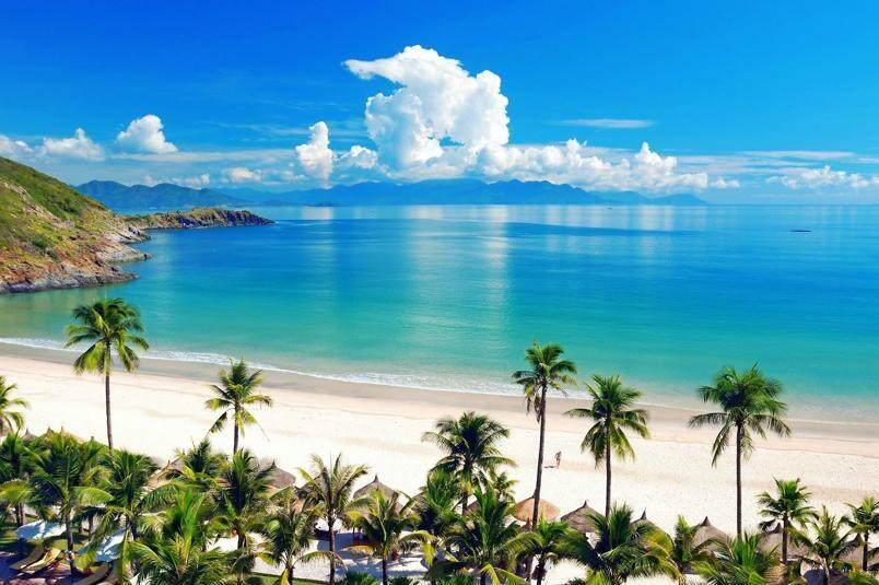 Playa ed Nah Trang en Vietnam