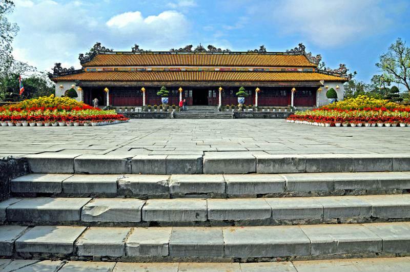 Palacio de Thai Hoa en la Ciudadela de Hue