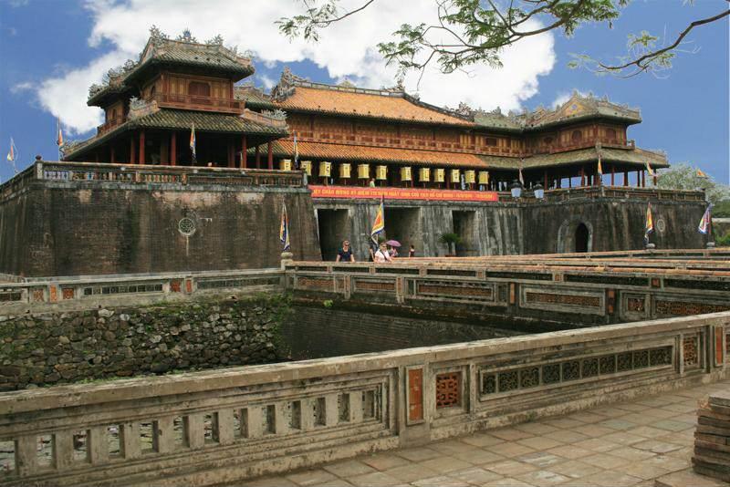 Ciudad prohibida de Hue en Vietnam