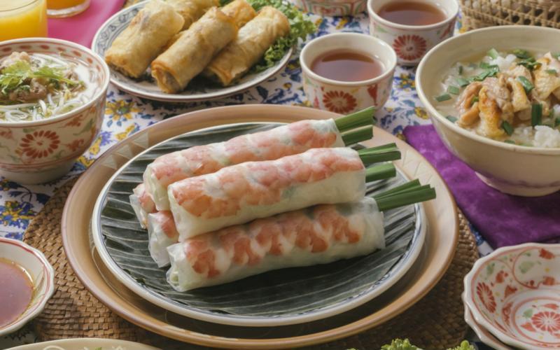 Platos típicos de la gastronomia de vietnam