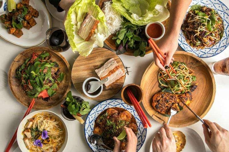 Platos de la gastromia vietnamita