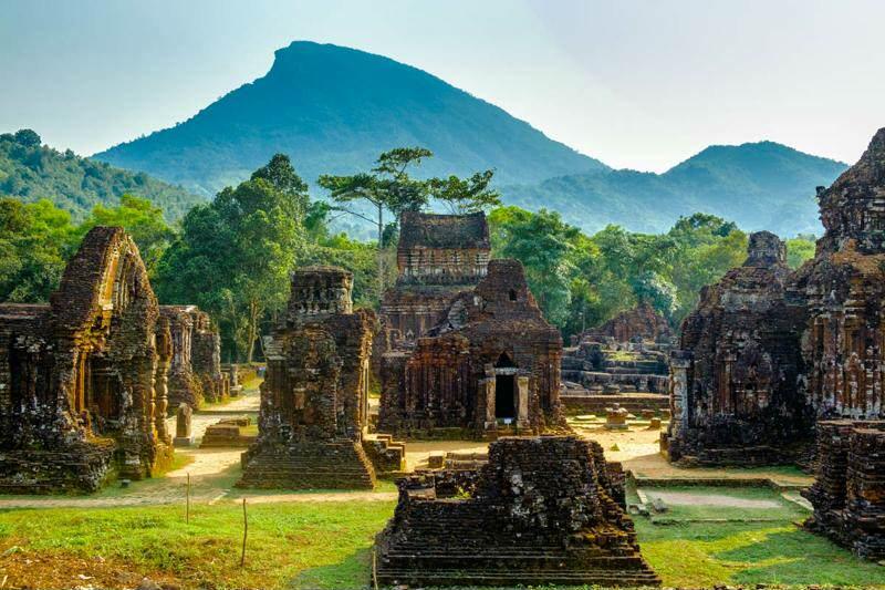 Templos de My Son en Vietnam