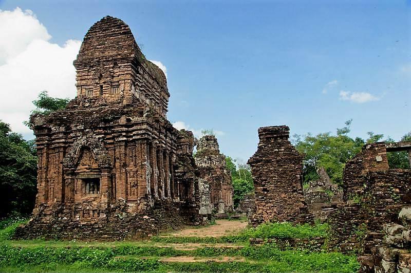 Templos hinduistas de My Son en Vietnam