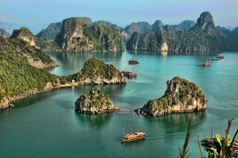 Visita de un día  a la  Bahía de Ha Long