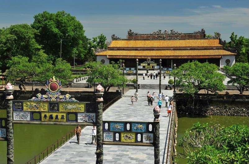 Vista de Hue, la capital imperial de Vietnam