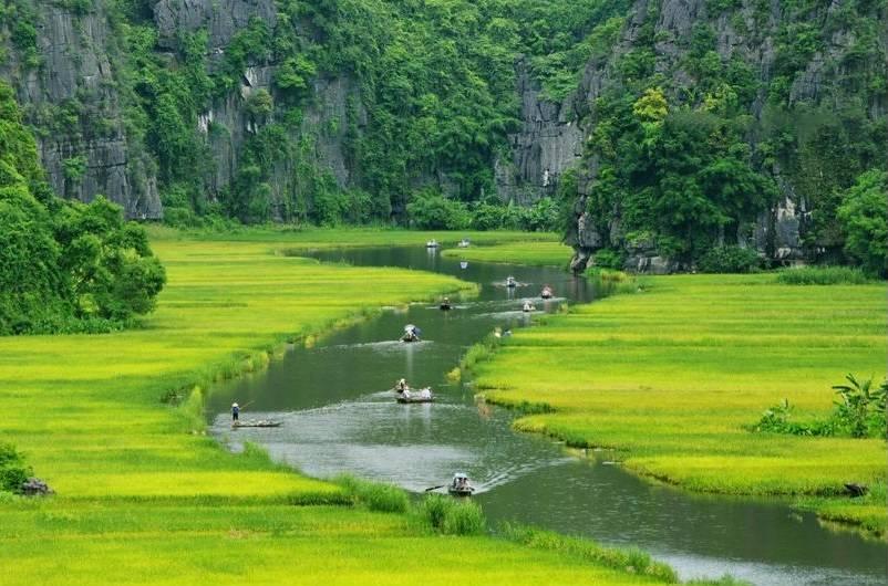 Paisajes de Trang An