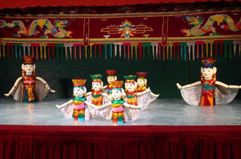 Teatro de las Marionetas en Hanoi