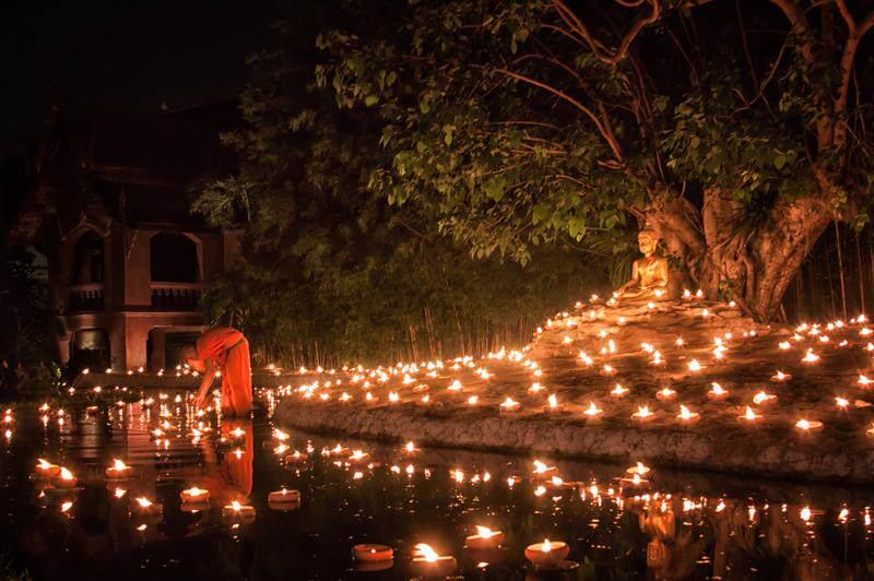 Fiestas del budismo en Tailandia