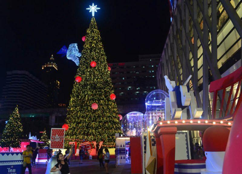 Arboles de Navidad en Tailandia