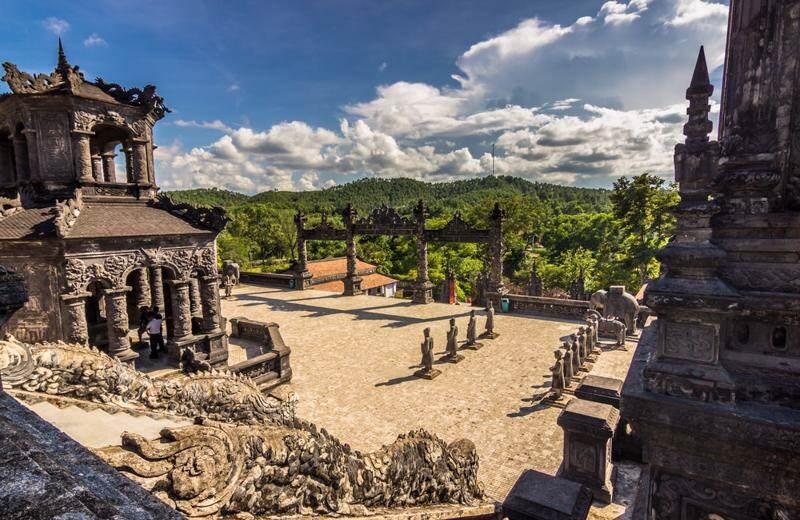 Las tumbas reales de Hue