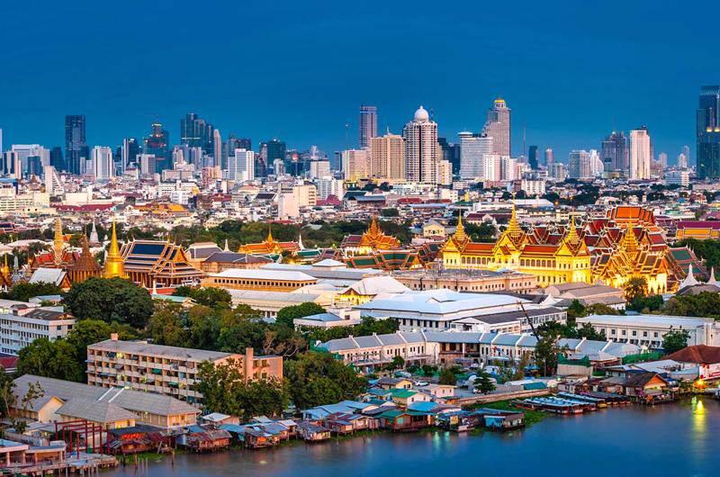 La ciudad de Bangkok