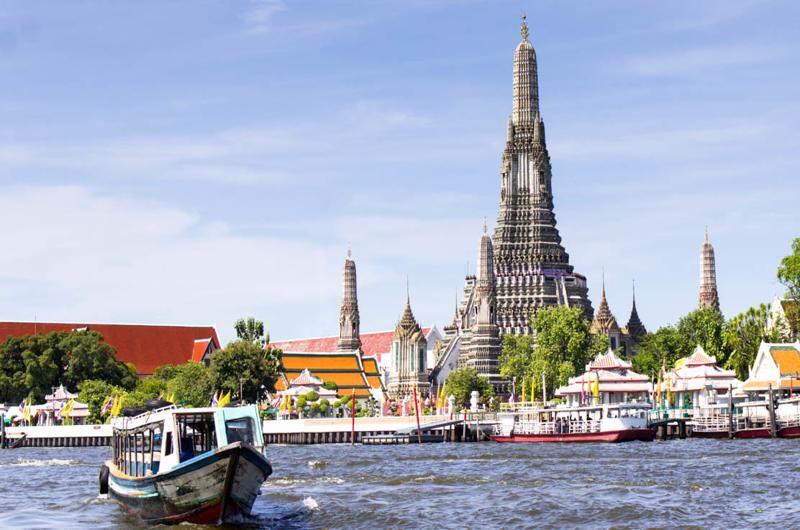 La temperatura en Bangkok por el día