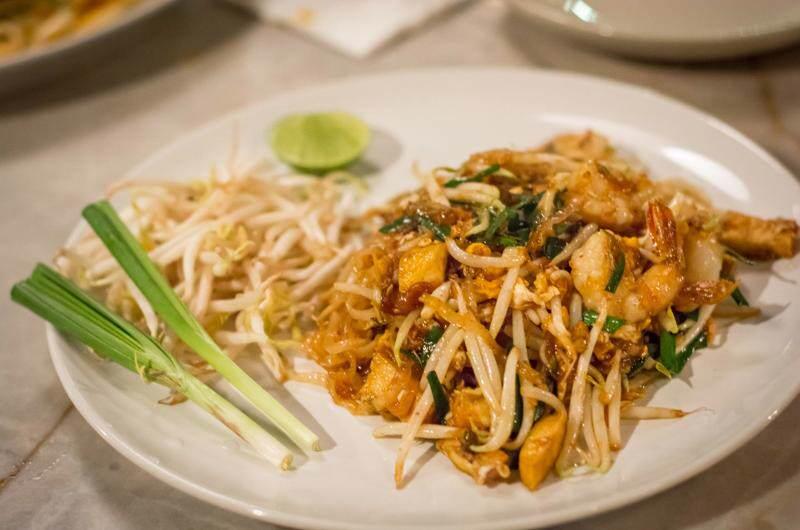 El Pad Thai tailandés