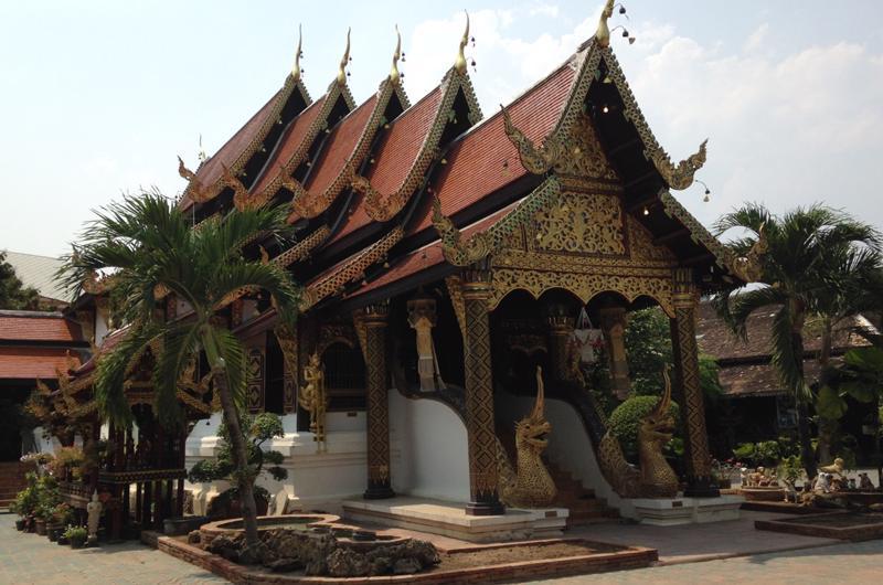 Vistando los templos de Chiang Mai