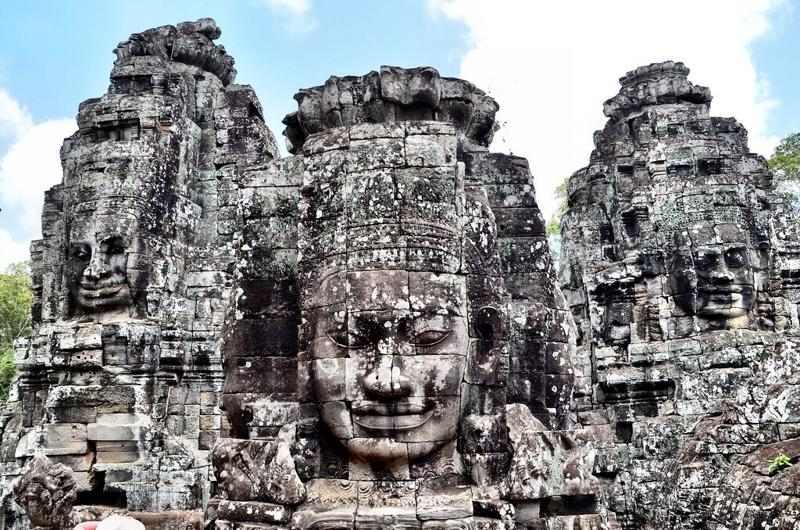 Templo de Bayon en Angkor