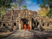 Templos de Angkor en Camboya