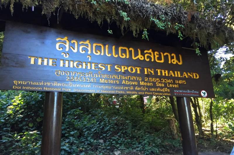 pico mas alto de Tailandia