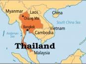 Donde esta Tailandia