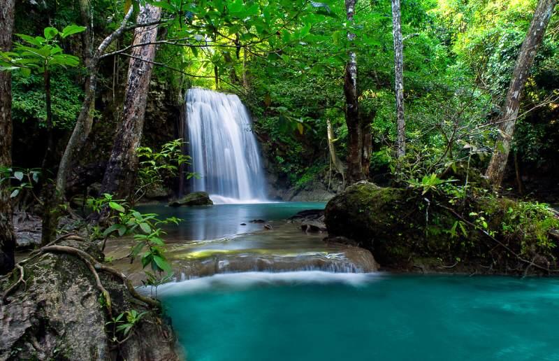 Visita a las cascadas de Erawan