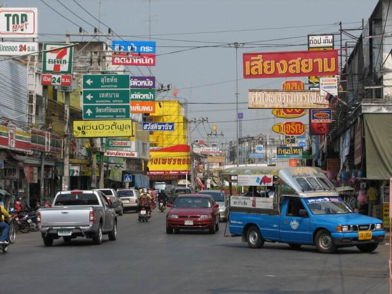 Errores en un viaje a  Tailandia