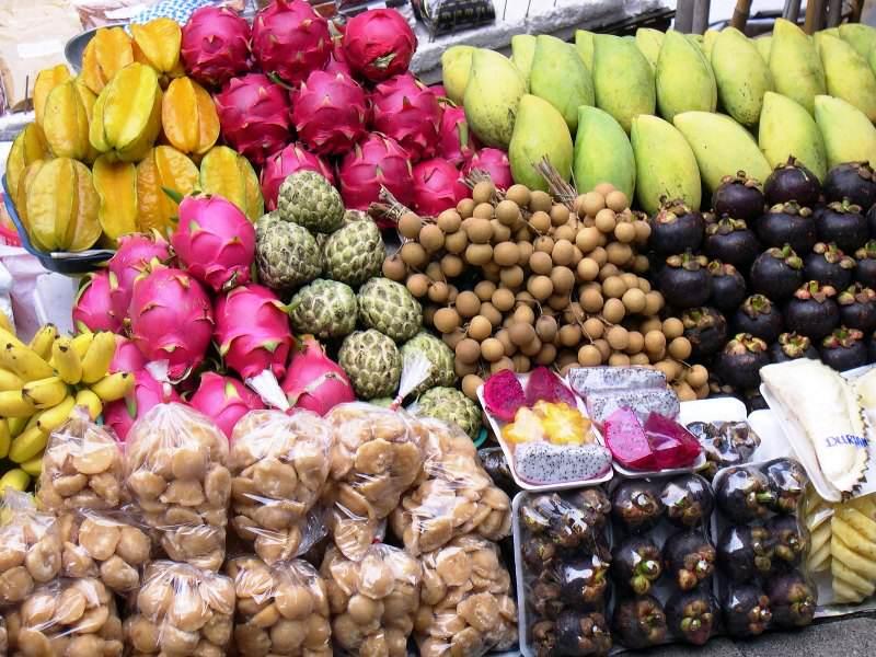 La fruta que comer en Tailandia